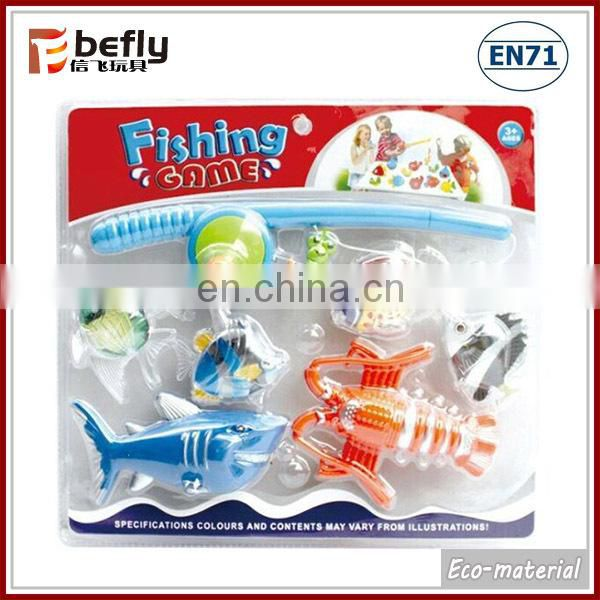 Hot selling electric musical fishing toys