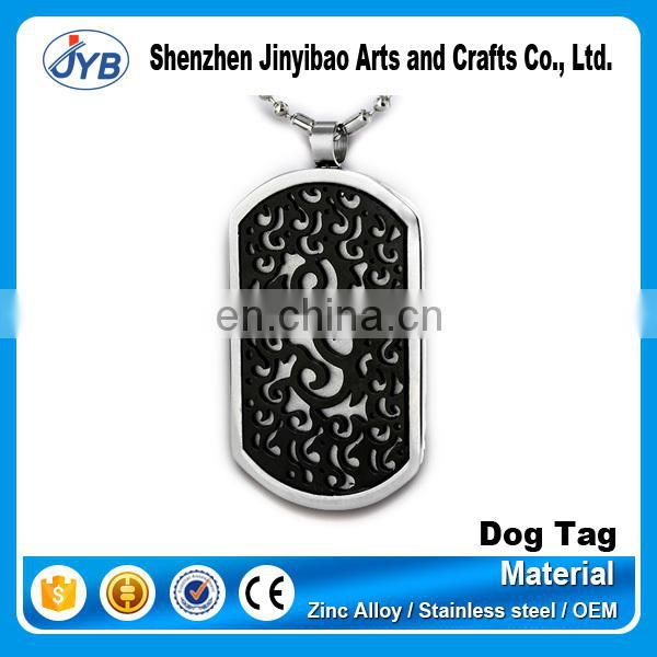 cheap mens anodized aluminum dog tag
