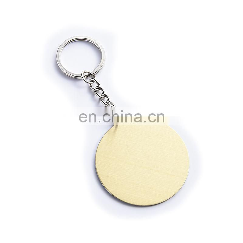 Custom epoxy metal keychain wholesale