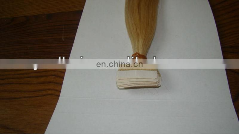 Top qualiy 100% Remy virgin double side stick tape hair extensions