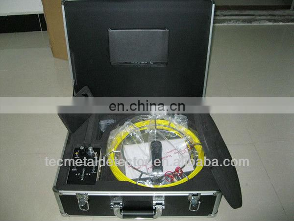 12 LED lights camera pipe weld inspection camera with recording TEC-Z710DM