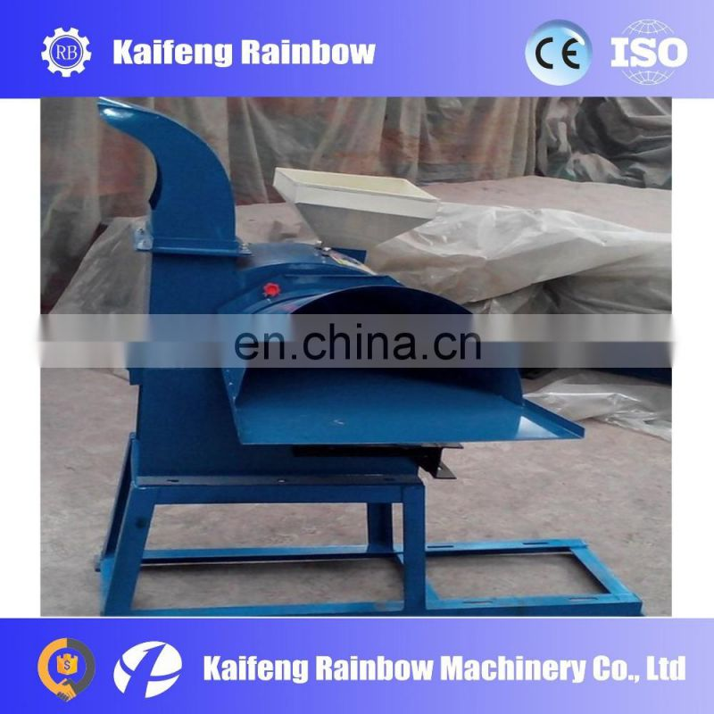 Manufacture Big Capacity farm use maize chopper,fresh straw crusher machine for sales