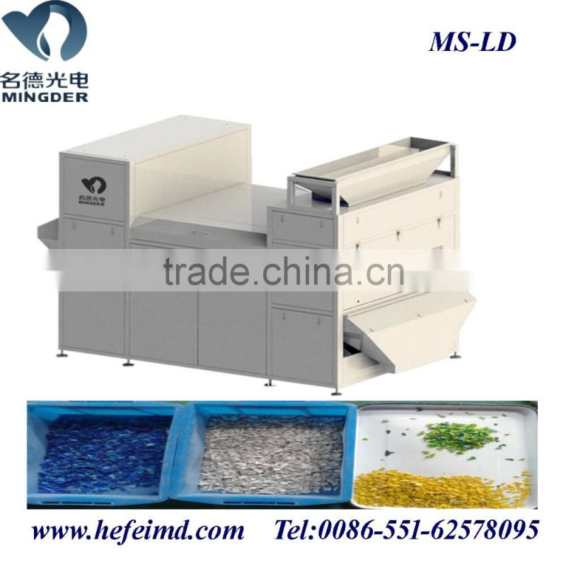 Professional ccd plastic color sorter machine, sorting machinery