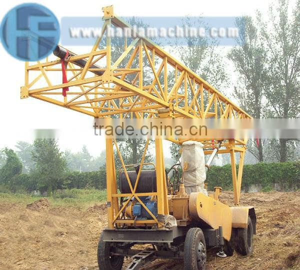 Trailer mounted water well drilling rig s600 for selling