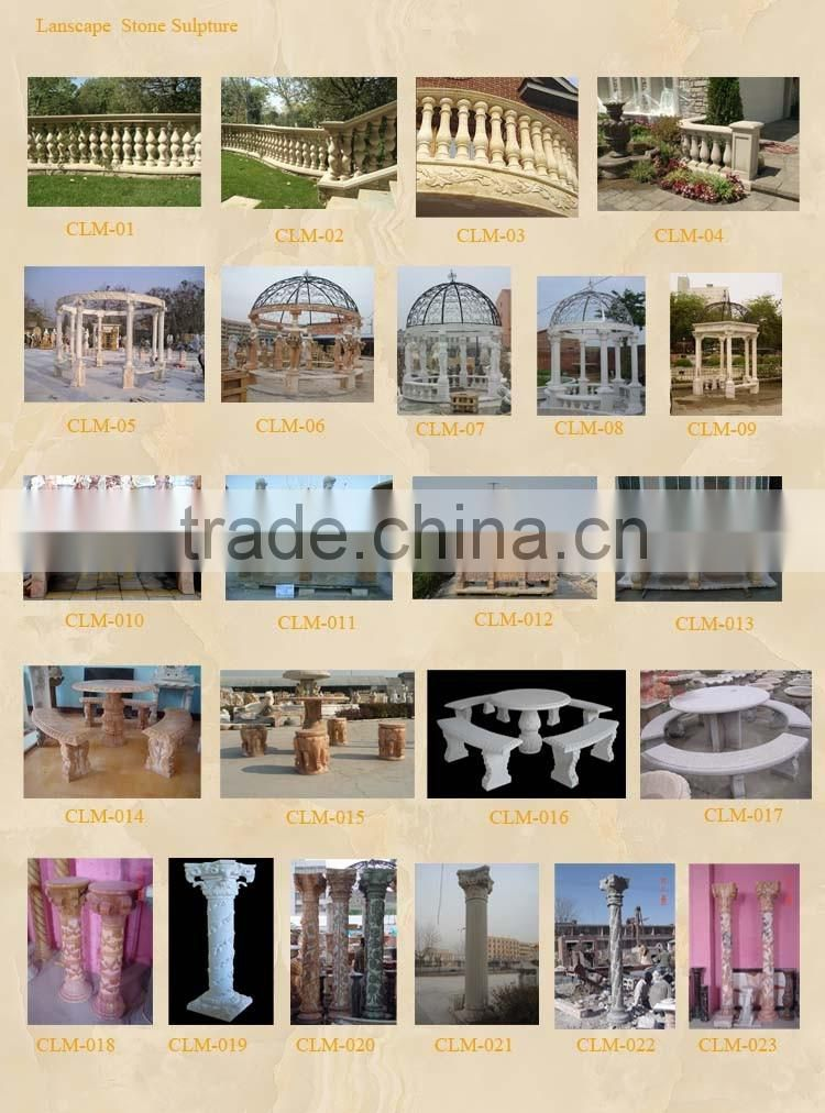 natural stone balustrade for outdoor decoration hot sale