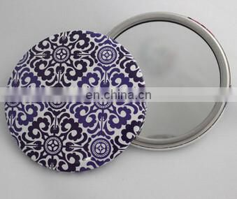 small custom made tin pocket mirror