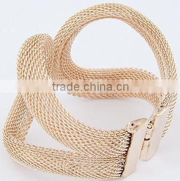 Shopping websites metal opening fashion bracelet