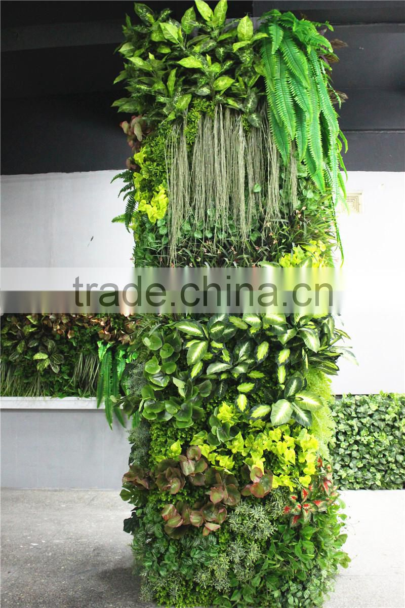 stickers home garden deco 300cm tall indoor or outdoor artificial plain green climbing column plant wall Ezwq10 1019