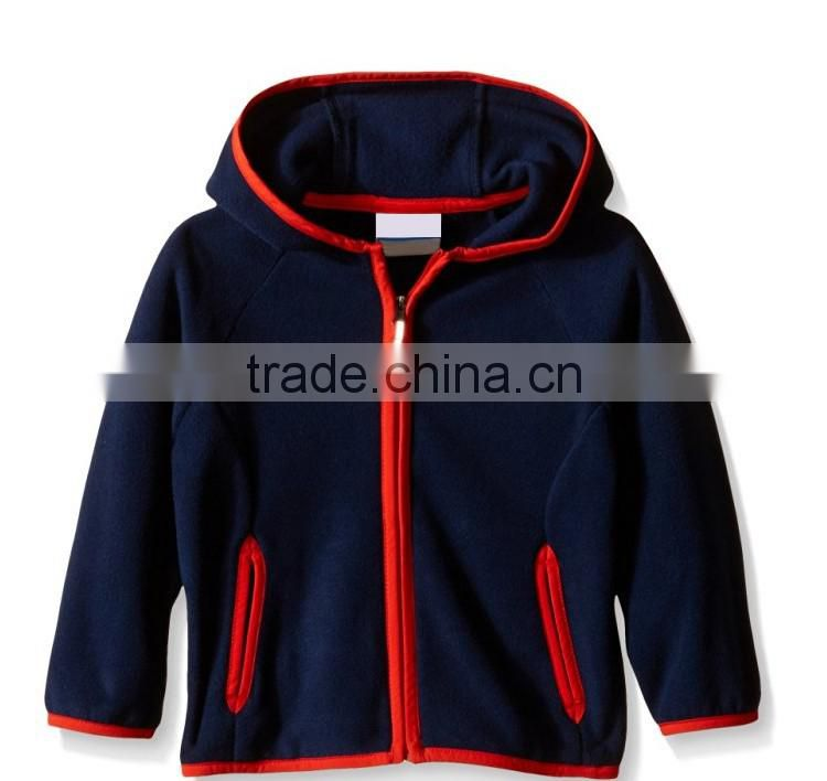 03de8ab0e Classic color design garment kids fleece children boys jacket of ...