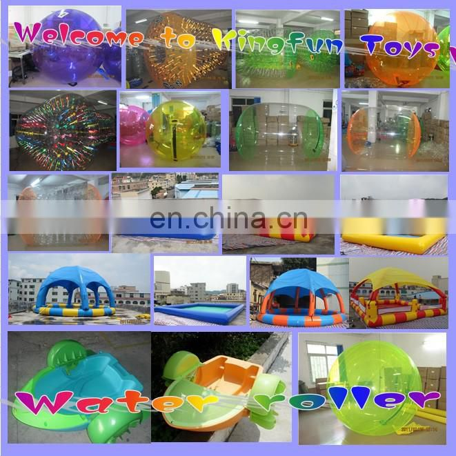 PVC/TPU Human Bowling Water Ball /aqua bubble
