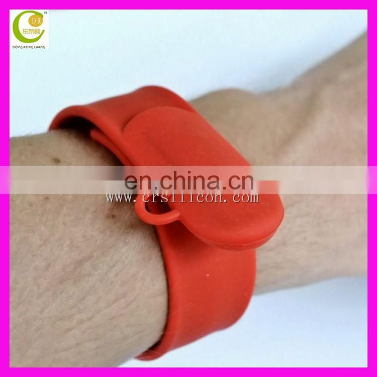 Customed Logo Fancy Silicone Wristband Bracelet Usb Flash Drive Bracelet Usb Flash