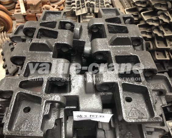 Nippon Sharyo DHP70 track plate crawler crane track shoe undercarriage parts track pad Image