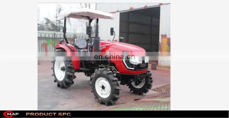 MAP404 mini farming tractor with farm machinery diesel tractors tools