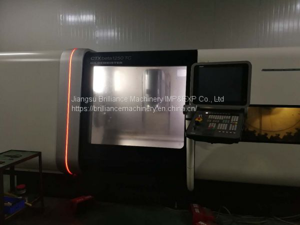 DMG CTX beta 1250 TC turning & milling combination Image