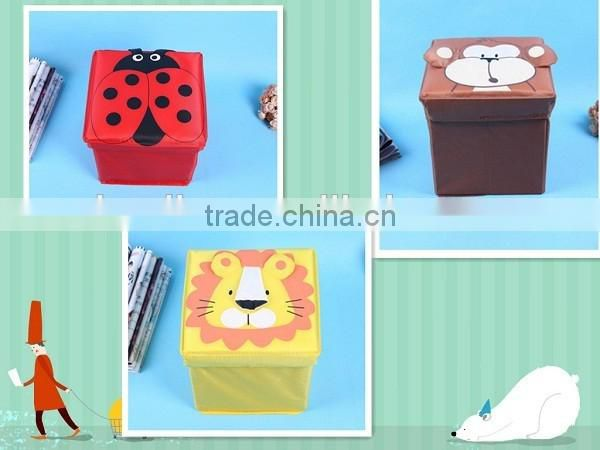 Multi Carton Storage Chairs Waterproof Foiding Cube Storage Box