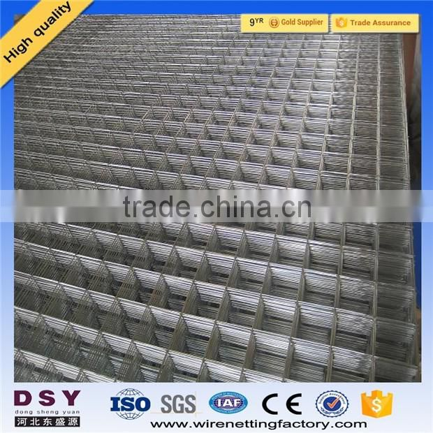 2016 wholesale Trade assurance 2x4 Galvanized Welded Wire Mesh Panel / pvc coated Welded Wire Mesh for Fence Panel