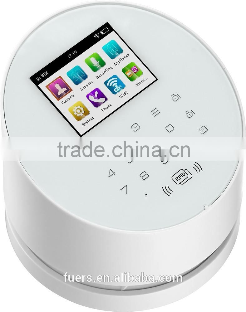 Factory sale new technology KERUI W2 wifi gsm hot wireless home security alarm system Image