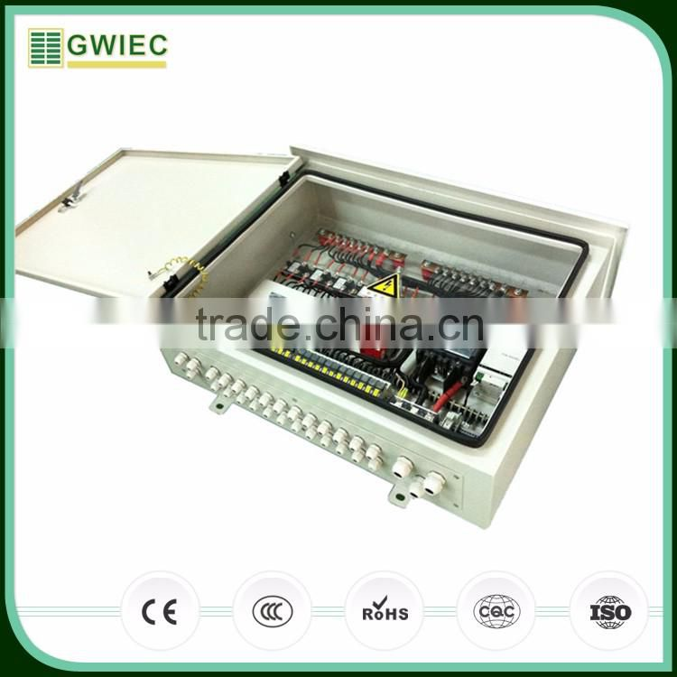GWIEC China Online Selling Solar System Combiner Box PV With Monitor 6 strings