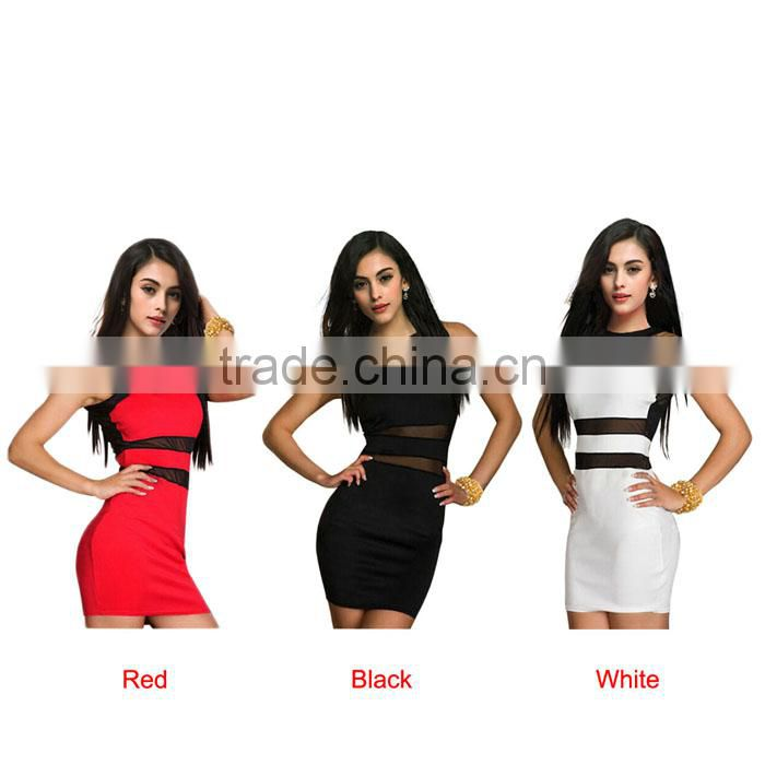 2016 New Womens Fashion Evening dress, Sexy Party Mini Dress ,Club Party Dress