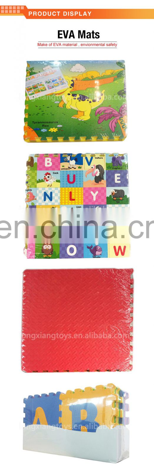 Eco-friendly hot sell alphabet eva foam letters for children
