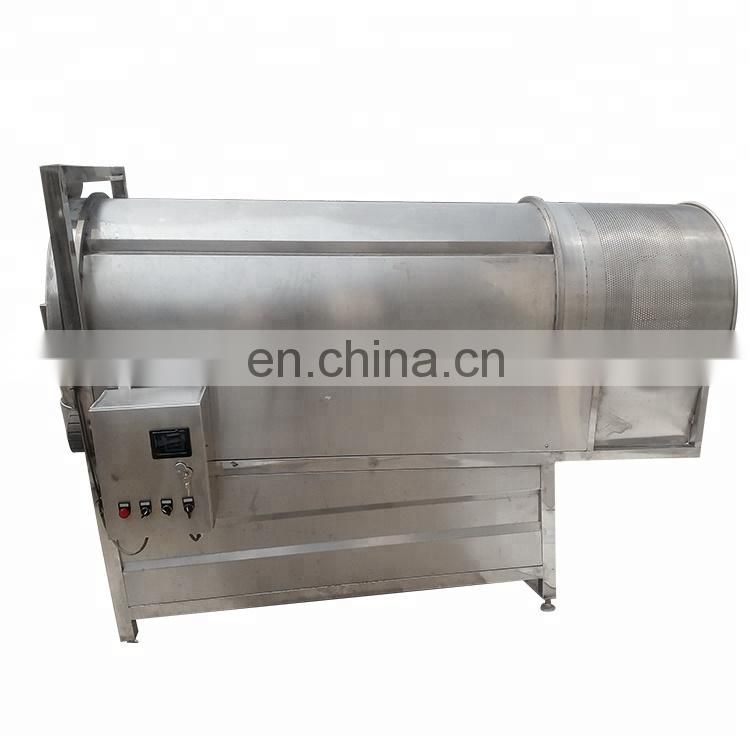 Taizy Lowest price disk fried peanuts seasoning machine