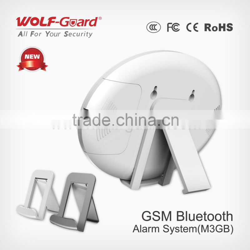 Ultra-Thin(15mm) Hot China Product! GSM Alarm+Bluetooth App GSM Alarm System YL-007M3GB
