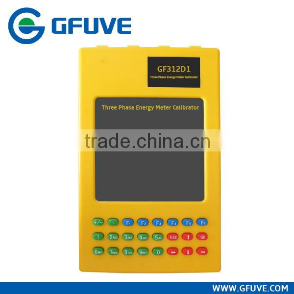 GF312D1 energy meter calibrator three phase kwh meter field calibrator