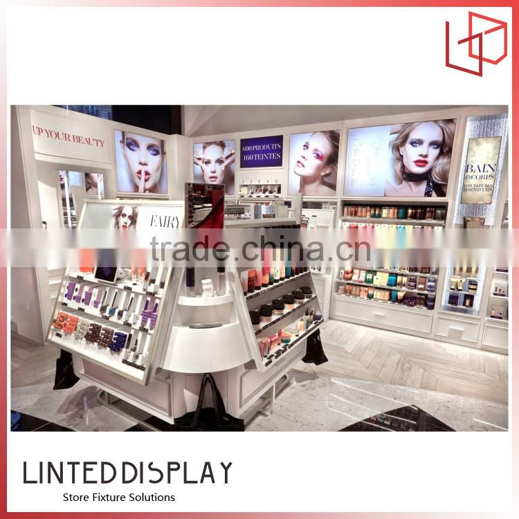 Factory direct sale customized acrylic display stand with lights