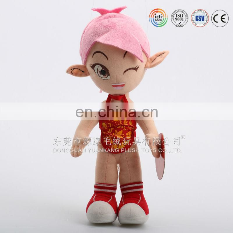 ICTI audits manufacturer OEM/ODM wholesale rag dolls ,custom doll