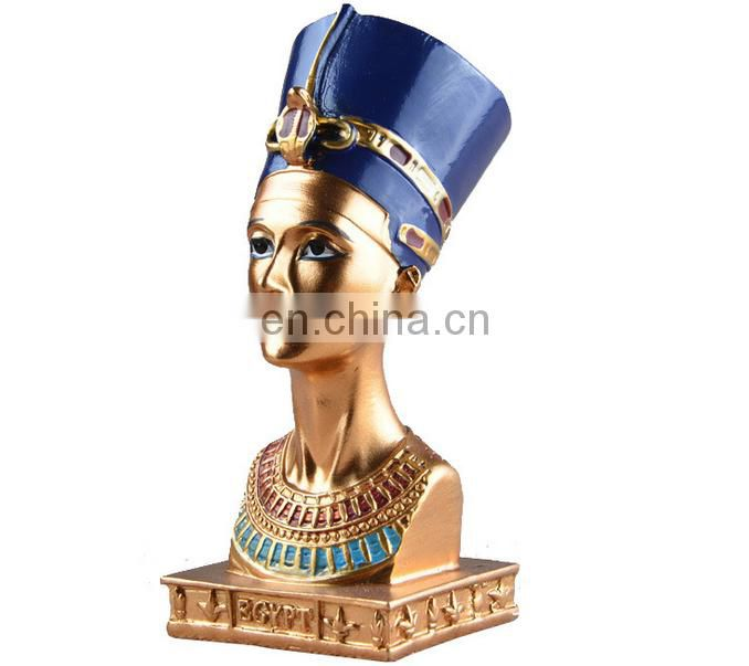 Egypt queen decoration magnificent religious statue