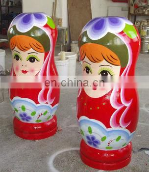 Handmade Wooden Chinese bridegroom nesting Doll for sale