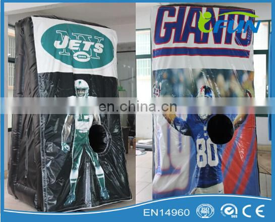 inflatable human fooseball pitch for sale / inflatable human foosball pitch/terrain de foot humain gonflable