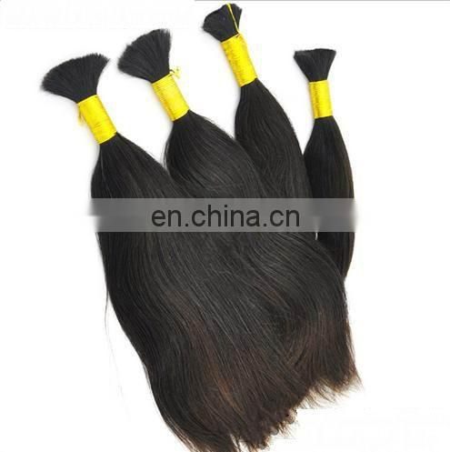 Grade 7a natural brazilian virgin remy hair unwefted,100%virgin remy hair