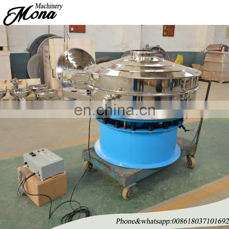 Rotary Vibrating Screen Sieving Machine for Dehydrated Dried Sour Cream Onion Powder
