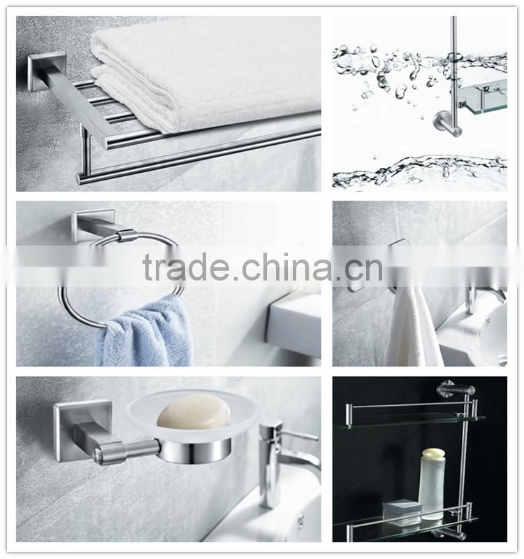 High quality Bathroom hardware accessory stainless steel swing bath towel rack