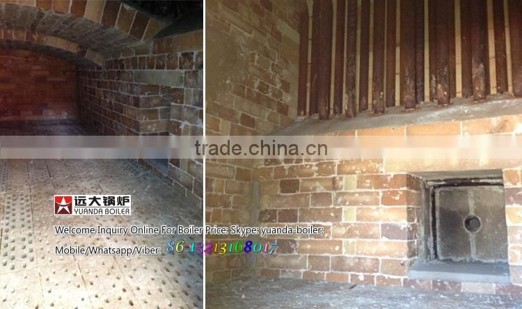 Steam temperature 194C china made wood waste steam boiler