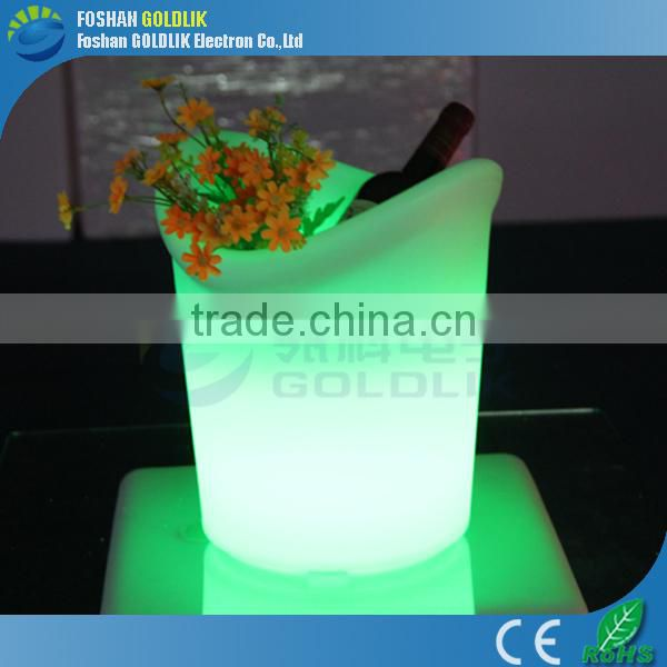 Multicolored LED Ice Bucket with Remote