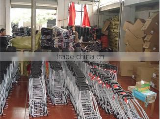 Custom Cheap Folding Shopping Trolley Bag with Two Wheels