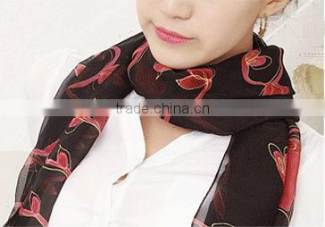 Women High Quality Fashion Printing All March Long Scarf/Shawl