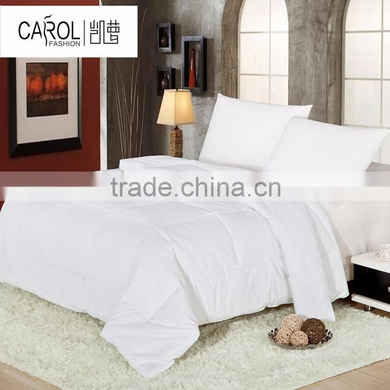High quality goose quilt hotel use bedding sets duvet