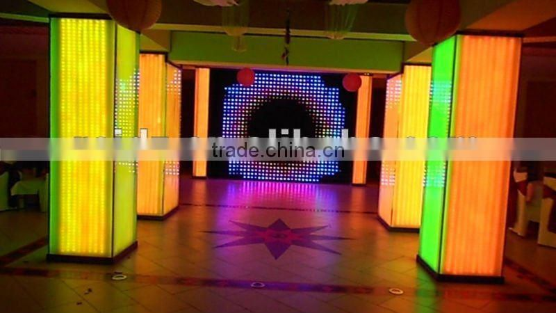 P100 fireproof LED decoration display screen for bar