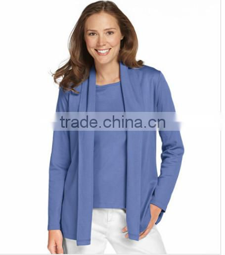 f497f5d21d9 Popular Pima Cotton Fabric In An Everyday Cardigan Style, Woman ...
