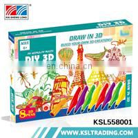 Child toy game hot items 3d printer pen play set china wholesale