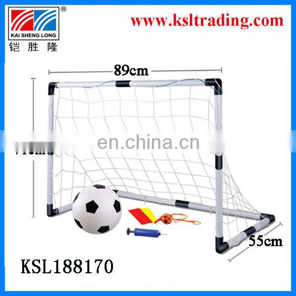 3 in 1 kids outdoor/indoor toy for childre plastic toy football door soccer door