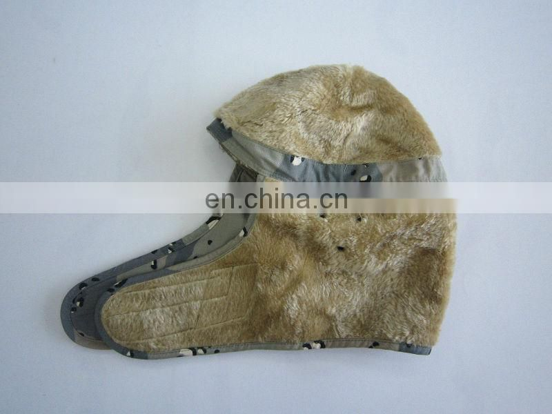 camouflage overhead military winter hat