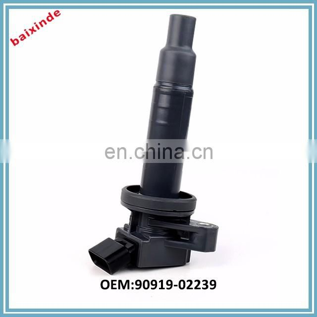 Auto Ignition System Pencil Ignition Coil 90919-02239 ForCorolla Vitz Passo Volt Wish Caldina Aygo Altis 2005 14