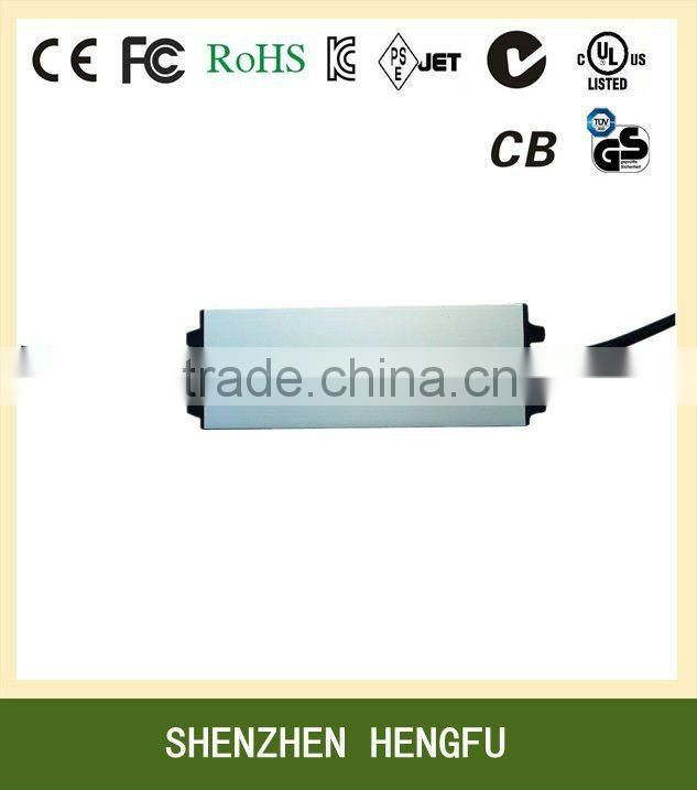 12W 12V 1A LED Driver with CE FCC ROHS UL SAA RCM C-Tick KC PSE approved