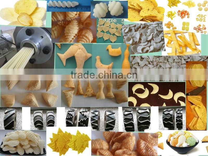 eagle DP 65 100-150kg/h corn puff snacks / maize cheese ball extruder machinery /manufacturing line/making factory in china