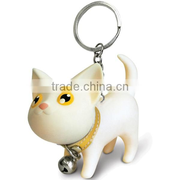 Christmas promotion gifts plastic car key ring