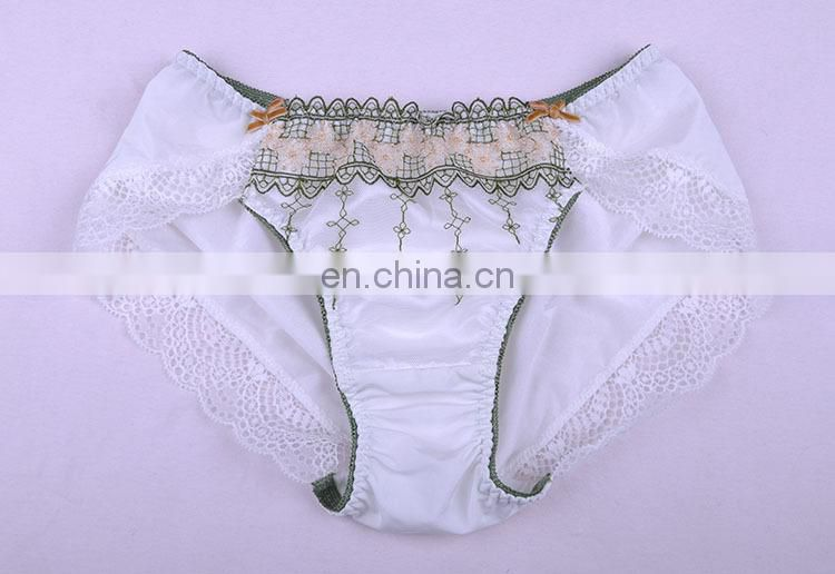 Top Quality Pretty Pattern Young Lady Lace Trim Lace Cheeky Underwear